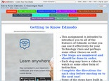 Get to Know Edmodo: A Scavenger Hunt - LiveBinder from Mrs. Yakes