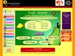 Math Games: Convert Fractions to Decimals - Fruit Shoot