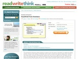 ReadWriteThink Notetaker - ReadWriteThink--outline maker