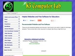 Helpful Websites and Free Software for Elementary Technology Teachers