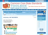 Common Core State Standards TOOLBOX