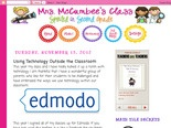 Mrs. McCumbee's Class: Using Technology Outside the Classroom