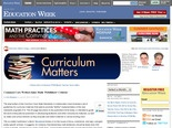 Common-Core Writers Issue Math 'Publishers' Criteria'