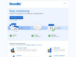 Doodle - Survey and Schedule Teachers