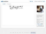 Pythagoras | Educreations