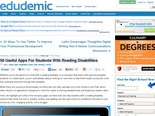 50 Useful Apps For Students With Reading Disabilities | Edudemic