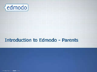 Introduction to Edmodo - Parents