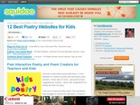 12 Best Poetry Websites for Kids